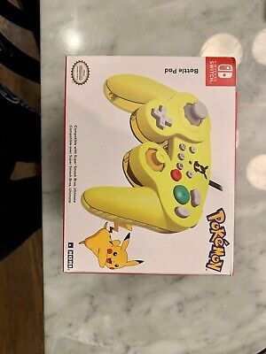 New Nintendo Switch Battle Pad Pokemon GameCube Style Controller Smash Bros.