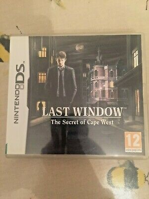 Nintendo Ds Last Window: The Secret Of Cape West - Complete With Manual
