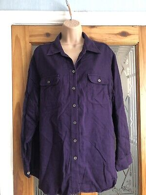 Marks&spencer St Michael Women's Ladies Top Shirt Size Uk 18