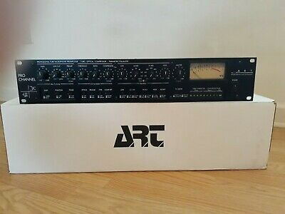 ART Pro Channel Strip w/ Cable Tube Mic Preamp Compressor Model 215