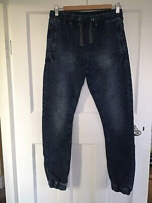 Boys Pull On Jogger Style Jeans Age 12 Yrs