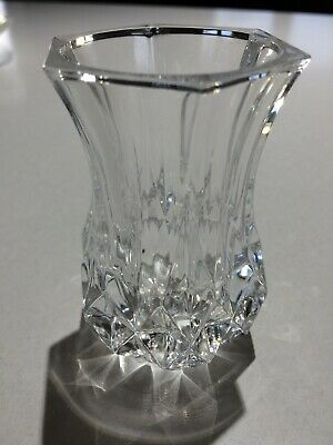 Cristal d'Arques Longchamp France?? Lead Crystal Bud Vase Toothpick Holder