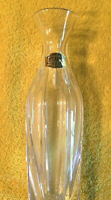 Atlantis Full Lead Crystal Vase 7 1/2 Inches