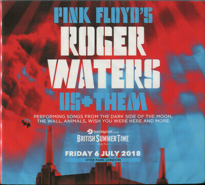 Roger Waters – Us+Them - Friday 6 July 2018 Hyde Park London 2CD