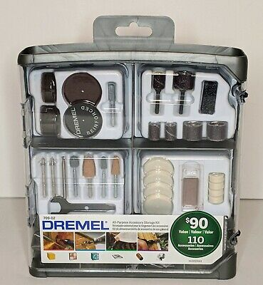 Dremel 110-Piece ALL-PURPOSE ROTARY ACCESSORY STORAGE KIT for POWER ROTARY TOOLS