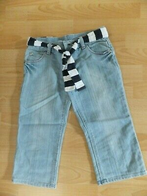 Girls cropped jeans.  Age 8-9 years.