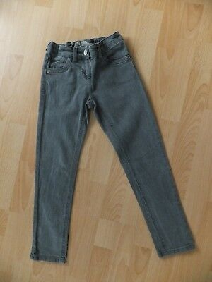 Girls khaki green skinny jeans.  Age 8 years.  From Next.