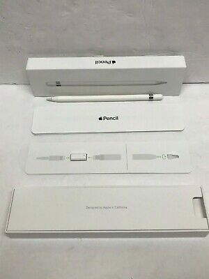 Apple Pencil for iPad Pro and iPad 6th Gen. White Model A1603 Original Box