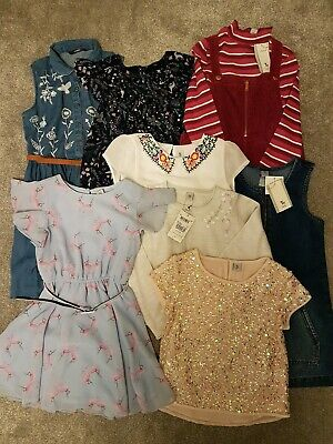 Girls clothing 7-8 years Tu George bundle dresses and sequined tops BNWT and VGC