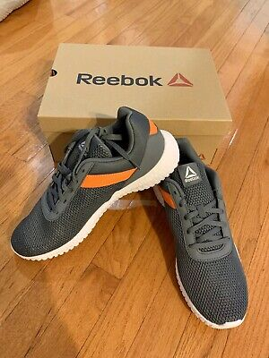NWT Reebok Mens Flexagon Energy Trainer Gray Cross Training Sneakers Shoes 10 M