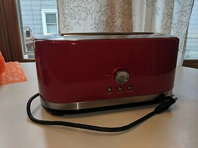 KitchenAid KMT4116ER 4 Slice Longslot Toaster (Empire Red)