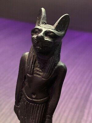 GOD ANUBIS - Rare Antique Ancient Egyptian Statue Dead Underworld - Ornament