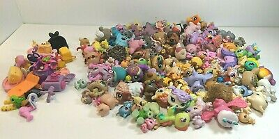 LPS Little Littlest Pet Shop Toy Collection Lot Over 100 Animals & Accessories