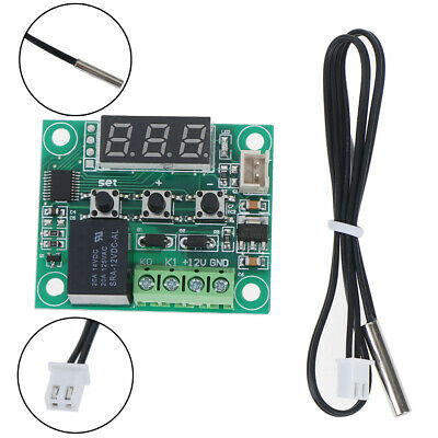 DC12V W1209 Digital Cool/Heat Thermostat Thermometer Temperature Controller ZB