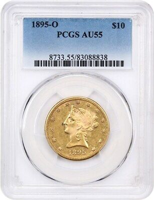 1895-O PCGS AU55 - Liberty Eagle - Gold Coin