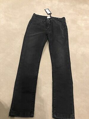 Fendi Boys Jeans Black Denim Ff Logo Bnwt Age 6