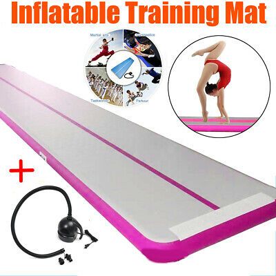 8MX2M Airtrack Air Track Floor Inflatable Home Gymnastics Tumbling Mat GYM+ Pump