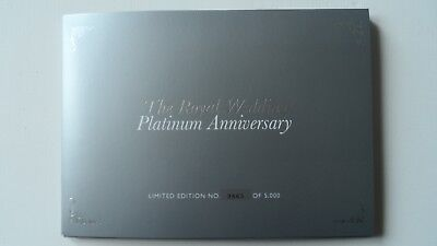 The Royal Wedding Platinum Anniversary Royal Mail Souvenir Pack Limited Edition