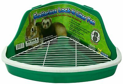 Ware Manufacturing Plastic Scatterless Lock-N-Litter Pan Small for Small Animal