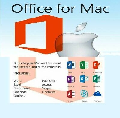 Microsoft Office Home & Student 2019 License  for MAC 💥INSTANT DELIVERY💥