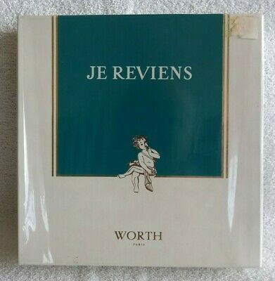 JE REVIENS WORTH EAU DE TOILETTE 50 ml 1.7 oz & SOAP 100 g FRANCE GIFT SET