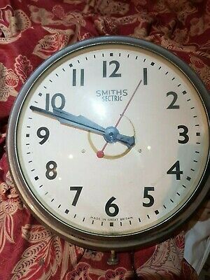Early rare  Smiths Electric wall clock 1950's /60's SECTRIC