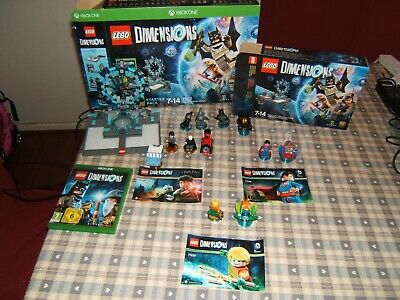 Lego Dimensions - Starter Pack and extra packs ( Microsoft X BOX 1 )