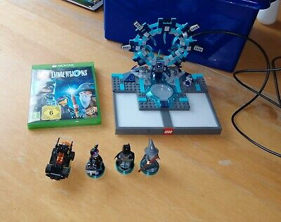 Xbox One Lego Dimensions Starter Pack  with game and figures