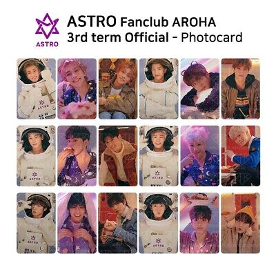 ASTRO FANCLUB AROHA 3rd Term Kit Official Goods Photocard KPOP K-POP