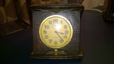 Vintage/Antique 8 Day Travel Clock c.1920