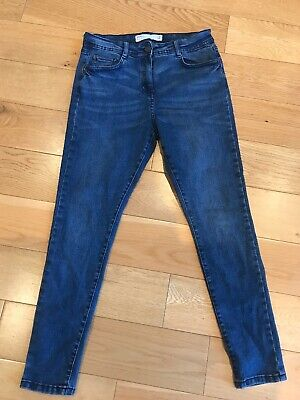 Next Blue skinny Mid Rise Jeans Size 12 Petite. BNWT