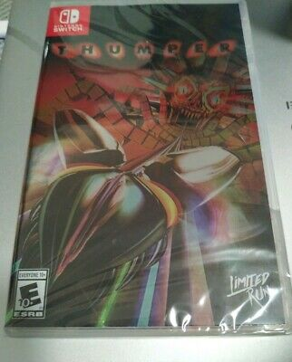 Thumper for Nintendo Switch game by Limited Run Games New Sealed rare