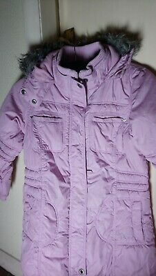 """Girls """"NEXT"""" PADDED COAT, SIZE 9-10 PINK. Hooded"""
