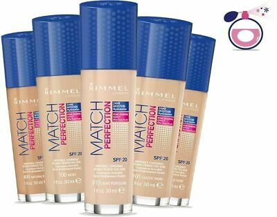 Rimmel Match Perfection Foundation 30ml SPF 20 - choose your shade