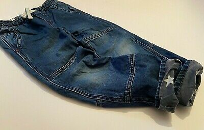 MINI BODEN Tolle BOYS Thermojeans Jeans gefüttert Sternchenfutter Gr.6Y 116