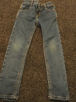 Boys skinny jeans with rip Ted Baker age 4-5