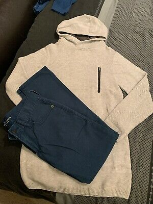 Boys Next And Gap Clothing Bundle Skinny Jeans Age 7-8
