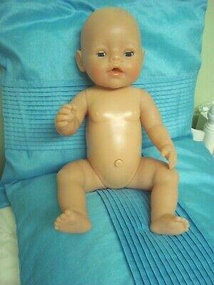 Zapf Creation Baby Born Potty Training Doll In Excellent Condiiton