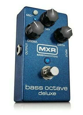 BRAND NEW MXR M288 Bass Octave Deluxe Effects Pedal Dunlop Free USA Shipping