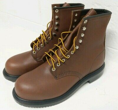 Red Wing Shoes SuperSole 8-inch Boot   Men's Size 9 D Steel Toe, EH 2233