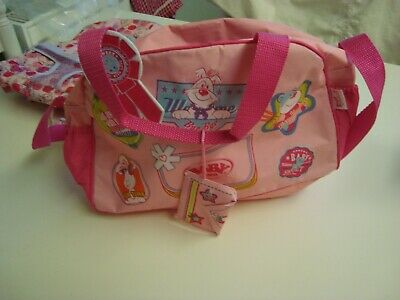 Zapf Creation Baby Born Back Pack And Doll Carrier & A Changing Bag All In Vgc