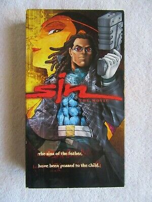 Sin The Movie Vhs English Dubbed Anime Adv Films 19 99