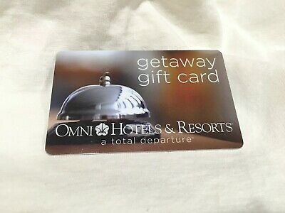 Omni Hotels and Resorts Gift Card $150.00 Value Physical Card