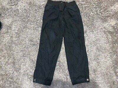 Boys Clothes Blue cuffed trousers age 5-6 years