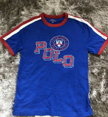 Boys POLO Ralph Lauren T Shirt Age 8 Excellent Condition Worn Once