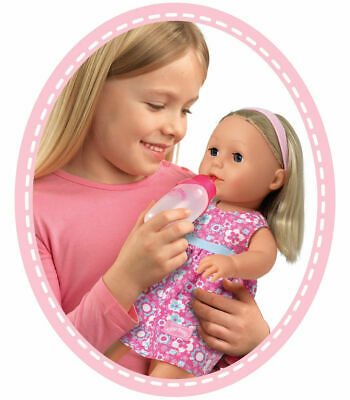 Classic Baby Doll Girl Tiny Tears Drinks Cry Wet Nappy 38cm