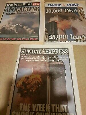 Twin Towers Newspapers.