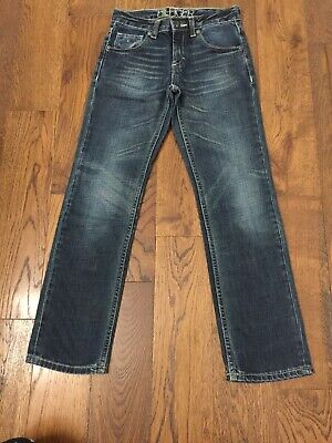 Tommy Hilfiger Age 9-10 Clyde Chester Wash Blue Jeans Slim Fit Not Skinny