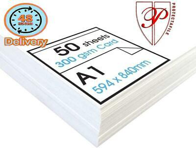 Protecatfile - 'High' White Card - Ideal For Presentation Display And Mounting -