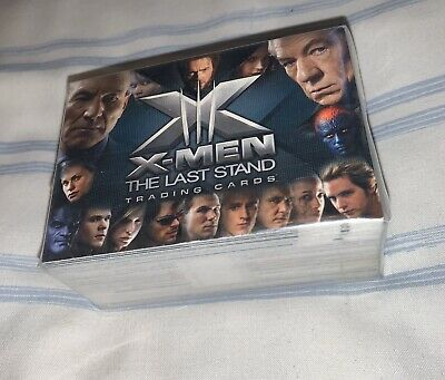 X Men The Last Stand Trading Cards - Sealed